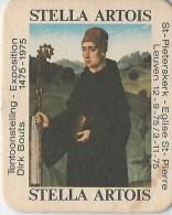 STELLA ARTOIS TENTOONSTELLING DIRK BOUTS 1475-1975 ST PIETERSKERK - Beer Mats