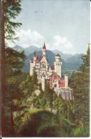 CPA  Schloss Neuschwanstein 2287 - Fuessen
