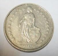 Suisse  Switzerland 1 Francs 1983    (  2 Scans ) *  L3 - Svizzera