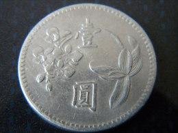 TAIWAN - 1 YUAN. 1960. - Taiwan