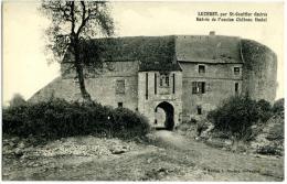 Luzeret  Par St Gaultier  Entrée De L'ancien Chateau Féodal - Other Municipalities