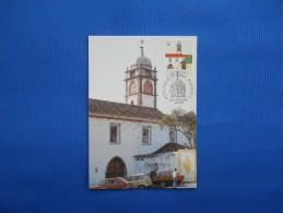 Maximum Card, Monuments Of Madeira, Monastry Santa Clara - Abdijen En Kloosters