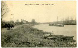 Précy Sur Oise Les Bords De L'Oise Chemin De Halage Chevaux - Précy-sur-Oise