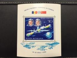 Roumanie Romania 1981 Bloc**