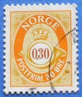 1239 NORWAY NORGE 30 O 1997 MAIL HORN - USED - Gebraucht