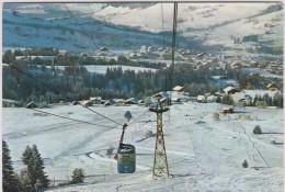 Haute  Savoie :  MEGEVE  : Vue     Années  60 - Megève