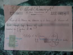 Alberto Romero Clichy   1895 - Banque & Assurance