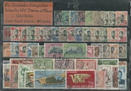 105 Timbres Différents Oblitérés De Colonies Françaises, L´ensemble TB - Bénin – Dahomey (1960-...)