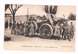 D 26 - Valence  - CANON DE 220  C.T.R. - 184eme RAL -1932  - SOUL 2036 - Matériel