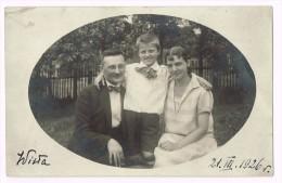 Photo Familie - Wisla - 27.VII.1926 - Poland - Pologne - Cartes Postales
