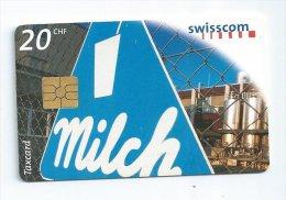 Telecarte SUISSE Taxcard  20 CHF 1998 Lait - Svizzera