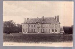 CP Villarceaux - Le Château Vue De Coté - Frankrijk