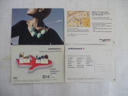 AIR FRANCE : LOT De 2 CPM  Voir Les Scans Recto Verso - Publicité