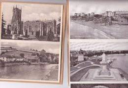 Vers 1930 Dépliant 5 Vues TENBY - Pays De Galles