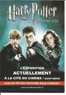 Harry Potter Carte Postale - Cinema Advertisement