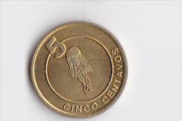 5 Centavos Du Territoire De CABINDA - Belle Petite Pièce - Angola