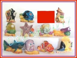 Les Aventures De Némo Brillante ... Lot De 11 Feves   ...Ref AFF 26-2004 ... (pan 0023 ) - Disney