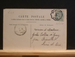 58/454    CP   AMB. MALESHERBES  A PARIS - Marcofilie (Brieven)
