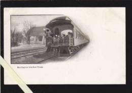 Etats Unis Amerique - Vermont - Burlington Limited Train   (chemin De Fer) - Burlington