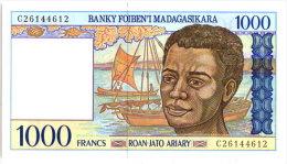 MADAGASCAR - 1000F 1994 N°1 - Madagascar