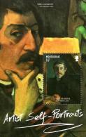 Montserrat - 2015 - World Of Art - Artist Self-Portraits - Mint Souvenir Sheet - Montserrat