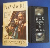 M#0N51 VHS NOMADI IN CONCERTO - GENTE COME NOI 1992 - Concert & Music
