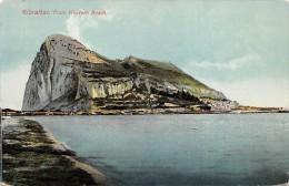 Gibraltar From Western Beach - Gibraltar