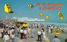 New Jersey Atlantic City On The Boardwalk In Atlantic City