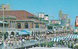 New Jersey Atlantic City Boardwalk In Front Of Chalfonte Haddon