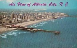 New Jersey Atlantic City Air View Of Atlantic City