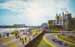 New Jersey Atlantic City View Over The Beaudwalk In Atlantic Cit