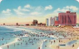New Jersey Atlantic City View From Ocean Looking Towards Ventmor