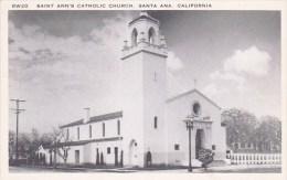 California Santa Ana Saint Ann's Catholic Church