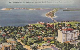 Florida Clearwater Showing Fort Harrison Hotel Causeway And Clea