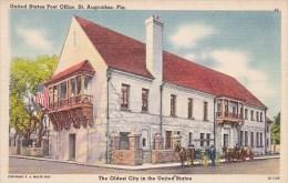 Florida Saint Augustine United States Post Office