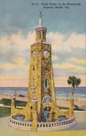 Florida Daytona Beach Clock Tower On The Boardwalk
