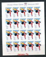 USA  Mi.Nr. 4576 Olympische Winterspiele, Vancouver-Folienbogen -MNH