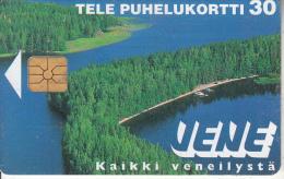 FINLAND - Vene, Tirage 60000, 05/97, Used - Paysages