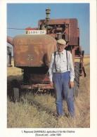 Agriculture - Métiers - Tracteur Massey Fergusson - Agriculteur Raymond Charreau à Ver Lès Chartres - Tracteurs