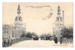 (8099-44) Nantes - Les Tours Lefèvre Utile Et L'Avenue Carnot - Nantes