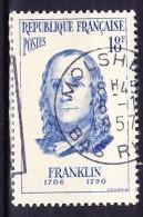 FRANCE 1956 YT N° 1085 Obl. - Used Stamps