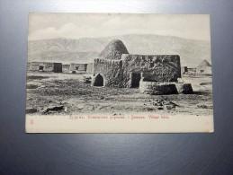 Carte Postale Ancienne : TURKMENISTAN : DOUROUN , Village Tekin - Turkménistan