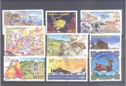 Nouvelle Calédonie : Lot De 9 Timbres Oblitérés (Bon état) - Nuova Caledonia