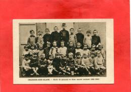 ORADOUR SUR GLANE     1950   /  ECOLE ENFANTS 1942/43    OUI - Oradour Sur Glane