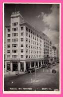 Carte Photo - Recife - Avenida 10 De Novembro - Devant SULACAP - Vieilles Voiture - Bus - 1947 - Studio EDSON - Recife