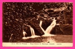 A.C. Ilha Do Principe - Roça Infante D. HENRIQUE - Cascata - Registado - Sao Tome And Principe