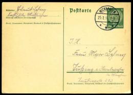 92582) DR - Ganzsache P 226 I - 6Pf Hindenburg - Gebraucht Mit TS In MICKHAUSEN Vom 25.02.1935 - Duitsland