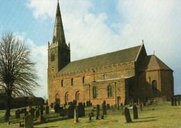 Postcard - Brixworth All Saints Church, Northamptonshire. B - Northamptonshire