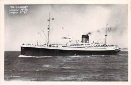 BATEAU - Paquebot DE GRASSE ( Cie ?) - CPSM Photo - Cruise Ship Kreuzfahrtschiff Cruiseschip Pakkeboot - Dampfer