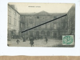 CPA Très Abîmée  - Peyrolles  - La Mairie - Peyrolles